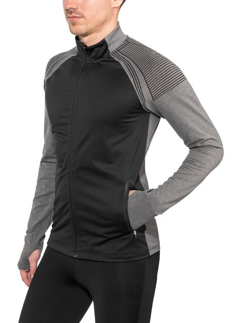 Craft Urban Run Fuseknit Jacket Men black/dk grey melange
